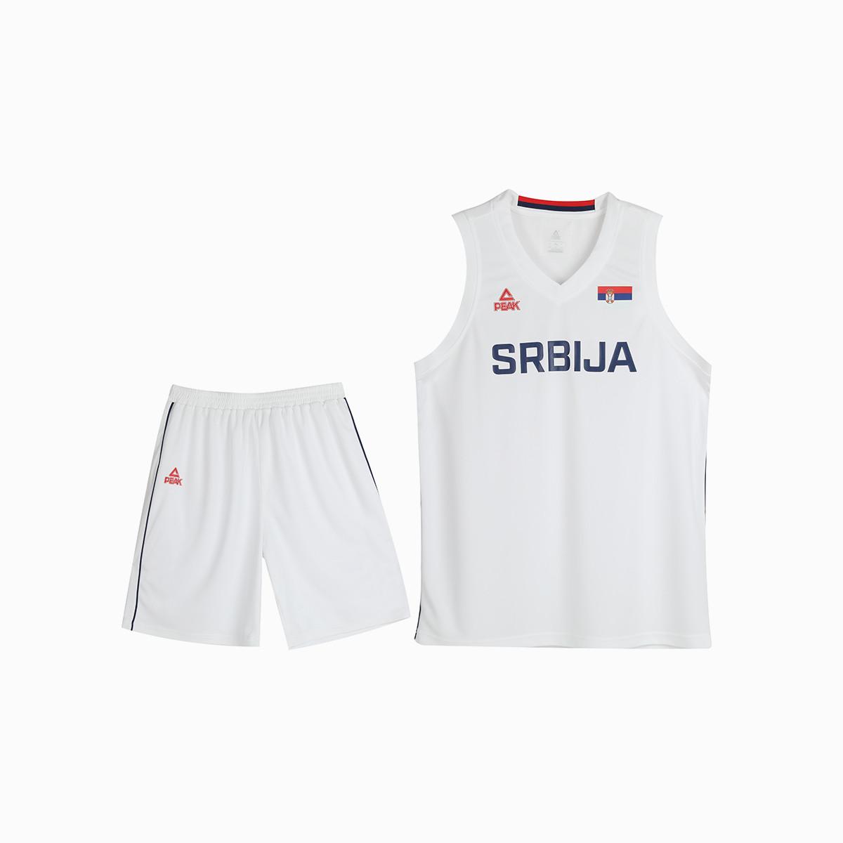 PEAK 匹克 塞尔维亚 DF703051 男女款运动套装