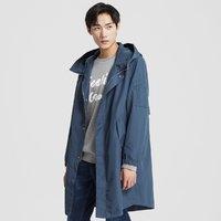 ME&CITY 53043941 中长款男式风衣