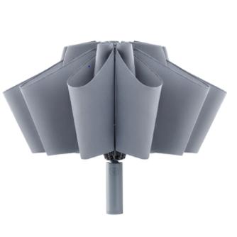 NINETYGO 90分 全自动反向折叠照明伞 106*65cm 灰色