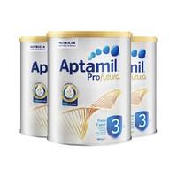 Aptamil 爱他美 白金版 婴幼儿奶粉3段 900g *3罐