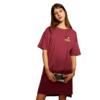 VERO MODA 米奇系列 女士T恤连衣裙 320161529 哗红色 XS