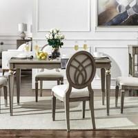 UVANART 优梵艺术 萨凡纳 美式现代轻奢餐桌 1.6m(单桌)