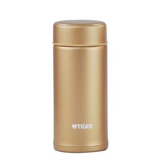 虎牌(TIGER) 虎牌tiger304不锈钢超轻时尚迷你办公杯带瓶套 淑女杯MMP-H 富贵金ND 200ml