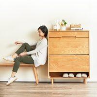 8H Tree YM5 优雅实木鞋柜