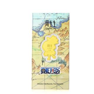 Chow Sang Sang 周生生 One Piece「航海王」系列 91896D 布鲁克足金金片 0.2g