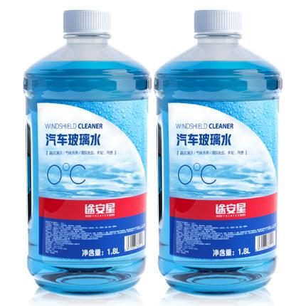TUHU 途虎  途安星 0℃ 汽车玻璃水 1.8L 2瓶装
