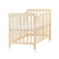 贝影随行 BB01SS 婴儿床+床垫+精棉9件套 升级款 原木色