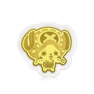 Chow Sang Sang 周生生 One Piece「航海王」系列 91898D 乔巴足金金片 0.2g