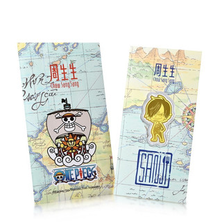 Chow Sang Sang 周生生 One Piece「航海王」系列 91901D 山治足金金片 0.2g