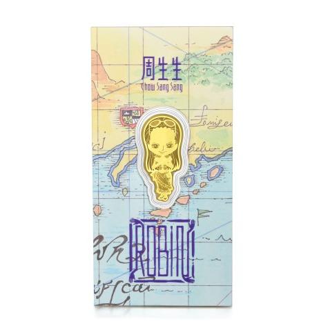 Chow Sang Sang 周生生 One Piece「航海王」系列 91895D 罗宾足金金片 0.2g