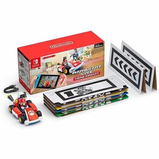 任天堂(Nintendo)Switch 游戏机/续航加强版 掌上游戏机便携 马里奥赛车AR实况家庭巡回赛 马里奥版