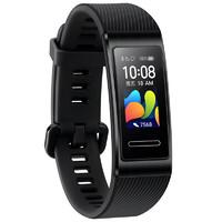 HUAWEI 华为 华为手环4 Pro 智能手环 曜石黑 硅胶表带(GPS、血氧)