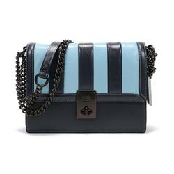 COACH 蔻驰 奢侈品 女士 专柜款HUTTON系列皮革哈顿小方包手提单肩斜挎包 739