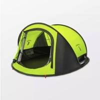 补贴购:早风 户外3-4人双层速开帐篷