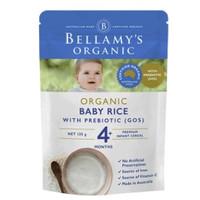 Bellamy's 贝拉米 婴儿有机原味米粉 4月+ 125g