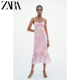 ZARA 新款 女装 佩斯利印花连衣裙 02587060330
