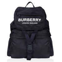 BURBERRY 博柏利 男女款尼龙双肩包 80106081 黑色