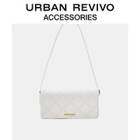 URBAN REVIVO2021春夏新品女士配件时髦菱格单肩包AW14TB2N2004