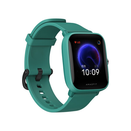 AMAZFIT 华米 Pop Pro 智能手表 40.9mm 松绿表盘 松绿硅胶表带(GPS、血氧、NFC)