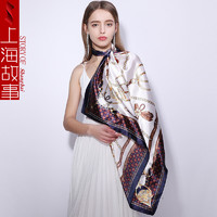 shanghai story 上海故事 女士大方丝巾
