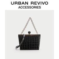 URBAN REVIVO2021春夏新品女士配件复古链条单肩包AA14TG2N2003