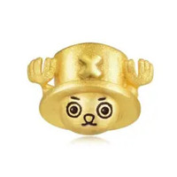 Chow Sang Sang 周生生 One Piece「航海王」系列 89620E-24KG-00 乔巴单边耳钉 约1.5g