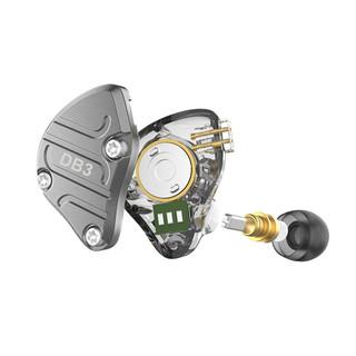 NICEHCK DB3 入耳式圈铁降噪有线耳机 黑色