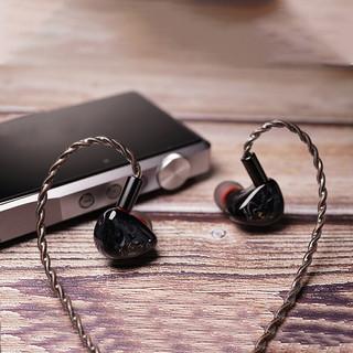 QOA Vesper 入耳式圈铁有线耳机 翡翠绿