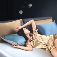 8H ZS 真丝时尚枕套 丹宁蓝 48*74cm