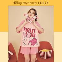 LEDIN 乐町 迪士尼联名 CLKCB2103 女士睡衣套装