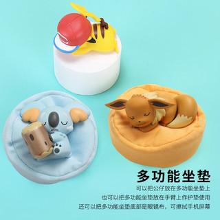 Pokemon 宝可梦 手办摆件 正版伊布公仔摆件 小号动漫创意卡通周边玩具 精美礼盒包装