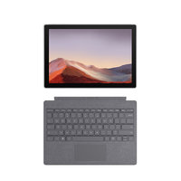 Microsoft 微软 微软Surface Pro 7 典雅黑主机 新亮铂金键盘  二合一平板 轻薄本  12.3英寸触屏 i7 16G 512G WiFi版