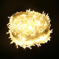 耀庆 户外装饰彩灯 太阳能款 暖白 12m