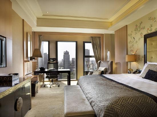 周末暑假不加价!北京万达文华酒店 高级豪华双床房1晚(含早餐)