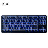 iKBC R300 机械键盘(Cherry MX轴、PBT、 87键、蓝色背光)