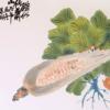【朵云轩木版水印】吴昌硕 玉米 中国画装饰画收藏馈赠