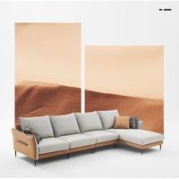源于中国色彩美学的沙发——左右 DZY5102 科技布沙发