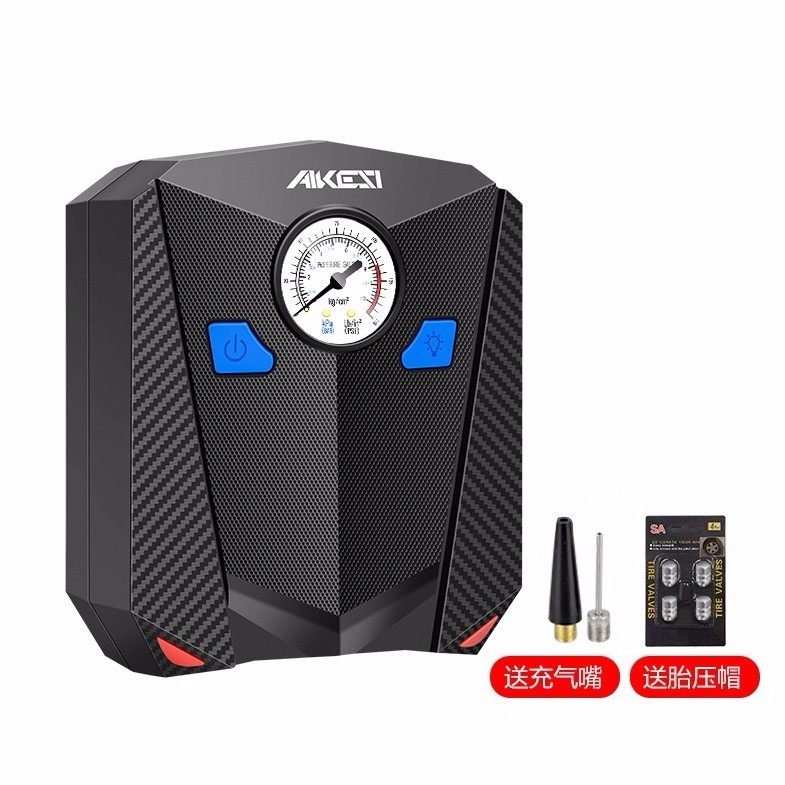 AiKeSi 艾可斯 AKESI 艾可斯 AKS-5501 车载充气泵 指针式