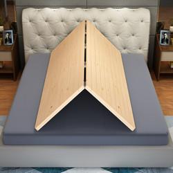 喜视美 实木床垫短边两折叠 180*200cm