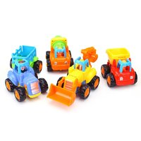 移动专享:Huile TOY'S 汇乐玩具 快乐工程队 惯性动力工程车 单只装