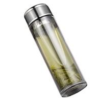 TONG QI 仝器 双层加厚玻璃杯 330ml 3色可选