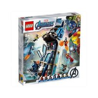 LEGO 乐高 超级英雄系列 76166 复仇者联盟大厦
