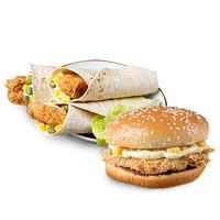 辅兴坊 奥尔良鸡腿堡4个+老北京鸡肉卷4个