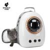 太空喵 猫包外出便携猫咪背包 灰白-浅灰配件 标准四件套
