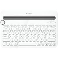 Logitech 罗技 k480 79键 无线蓝牙键盘 白色 无光