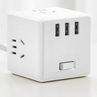 MIJIA 米家 MJZHQ3-01QM usb智能插座 有线版 白色
