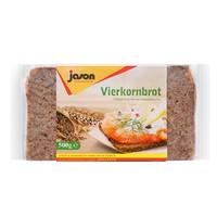 临期品:jason 捷森 低脂高纤黑麦面包 500g
