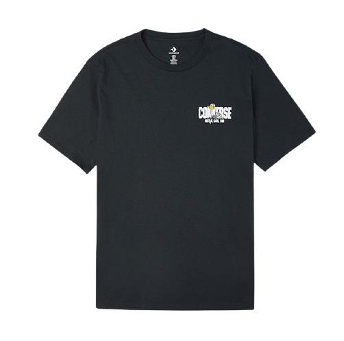 CONVERSE 匡威   花卉系列 10021124 男款印花短袖运动T恤