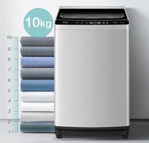 京东PLUS会员:Midea 美的 波轮洗衣机全自动10公斤 MB100V51WQCH
