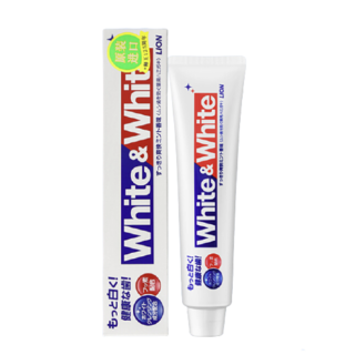 LION 狮王 White&White亮白牙膏 150g